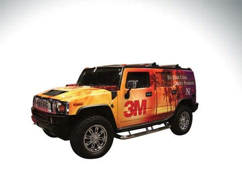 Vehicle Wrap (3M Cast)