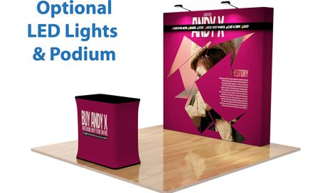 Features and Advantages of Pop Up Fabric Display
