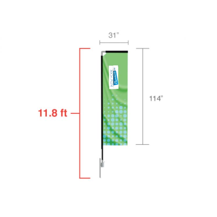Rectangle Flag (Medium)