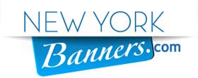 Banner Printing Company New York | Custom Vinyl & Mesh Banners NY Logo