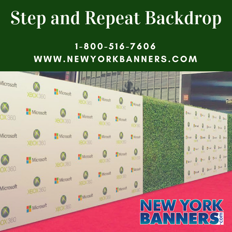 Step and Repeat Banner Printing NYC – New York Banners